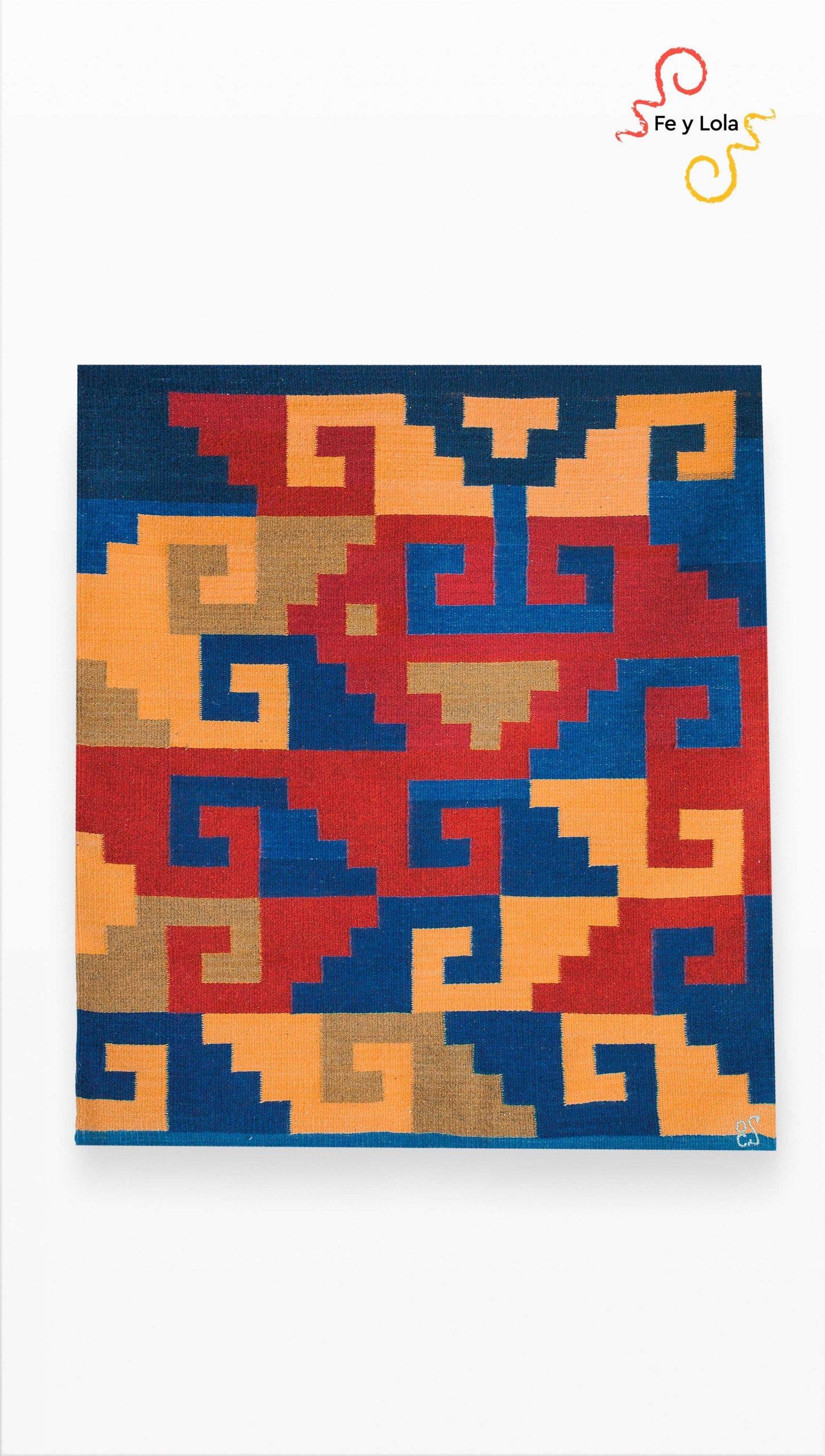 Oaxaca rugs. Feylola. Made in oaxaca. Tapetes de Teotitlán